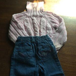 Girls Toddler Fall/Winter Matched Set